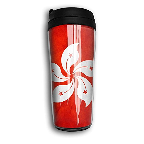 POOLLI Hong Kong Flag Cool 3D Design, Good Quality And Heat Preservation Coffee Cup