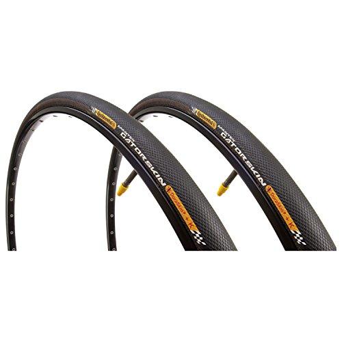 - Continental Sprinter Gatorskin Road Bike Tubular 28'' x 25 mm 700c Tire Pair