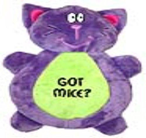 Vo-Toys Got Mice Cat Flapjack Dog Toy, 10-Inch
