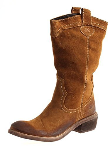 65f75a372189 Dockers Cowboy Boots 254302-141017 Western Boots Leather Boots Boots Ladies  - Tabak