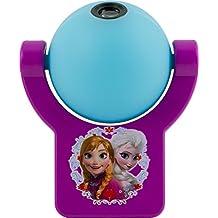 Jasco 13340 Projectables Disney Frozen LED Plug-In Night Light, Purple/Light Blue