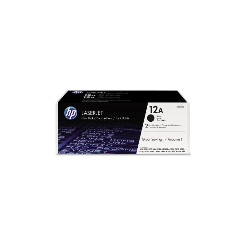 HP 12A (Q2612D) Black Original LaserJet
