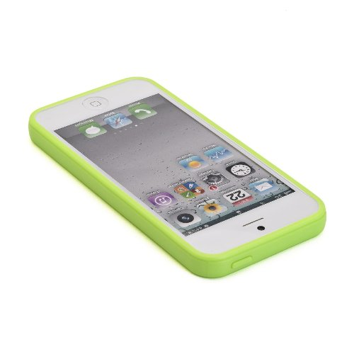 Muvit MUBKC0566 Grüne sunglasses Schutzhülle für Apple iPhone 5