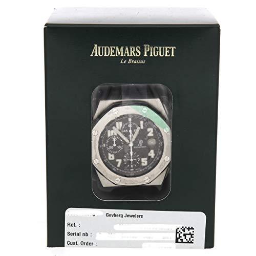 Audemars Piguet Royal Oak Offshore - Audemars Piguet Royal Oak Offshore Mechanical (Automatic) Black Dial Mens Watch 26020STOOD001IN01A (Certified Pre-Owned)
