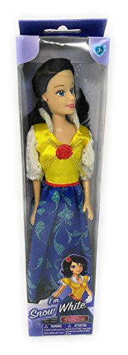 Zoe House Of Cards Costume (Playtime Fairy tale Fun Doll Snow White 12 inch)