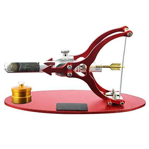 Misszhang-US Arrow Shape Stirling Engine Model External Combustion Educational Alcohol Lamp red