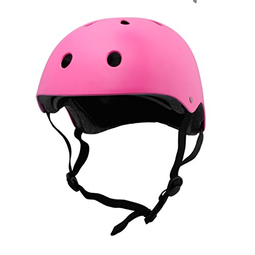 Cycle Designs (BPS Cycle Bike Kid Children Helmet and Skate Helmet Vented Design Lightweight 21.5 - 22.5 inch Head Circumference Unisex Kids Pink)