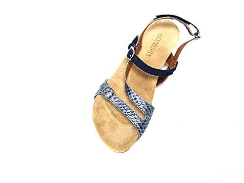 Benvado sandalo Jillian indigo blu