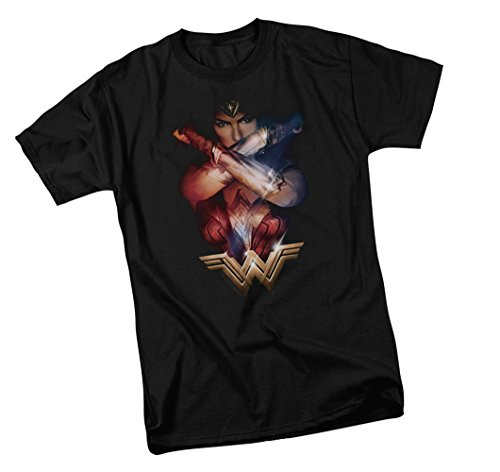 Wonder+Woman+Shirts Products : Arms Crossed -- Wonder Woman Movie Adult T-Shirt