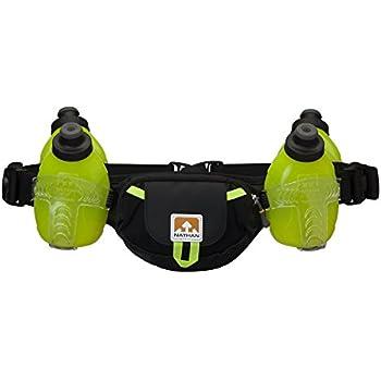 Amazon Com Nathan Trail Mix 4 Plus Hydration Belt Black