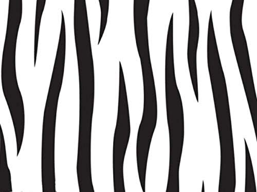 Zebra Print Cookie - 12ct X-Large Safari Party Zebra Print Cello Gift Bags 6x13 Holiday Cookies Mugs Party Supplies tokocathy
