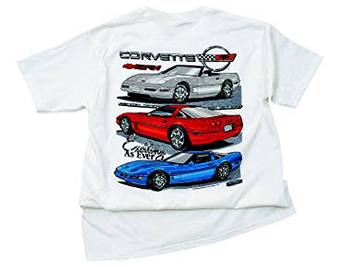 Corvette C4 T-Shirt Exciting As Ever X-Large