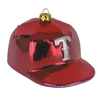 Texas Rangers Baseball Hat Ornament