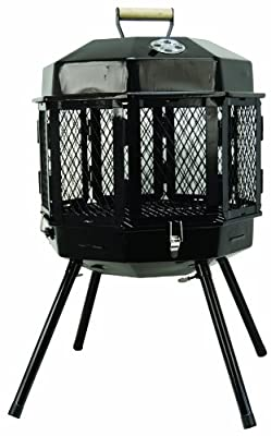 Masterbuilt GMFP20 Grizzly Cub Portable Fireplace and Grill