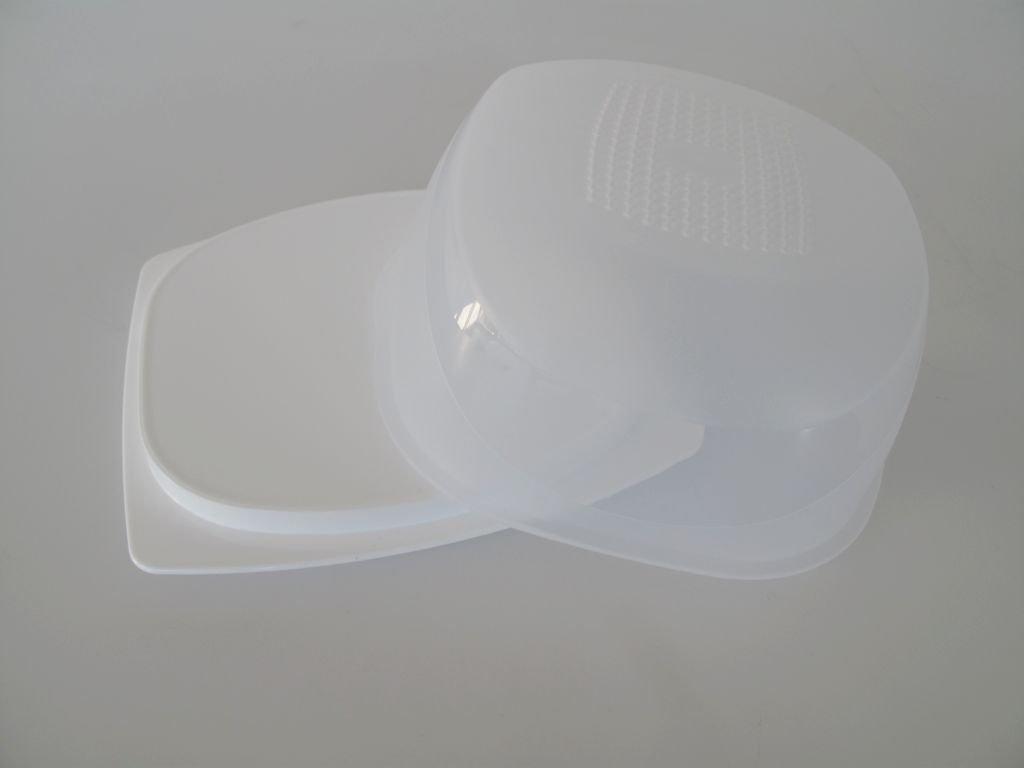 TUPPERWARE Cheesmart Mini transparente blanco 8679