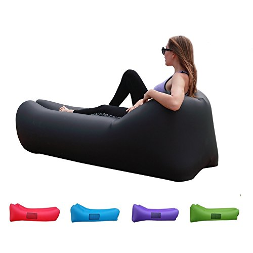 Easycouch Inflatable Lounger With Travel Bag,Waterproof R...