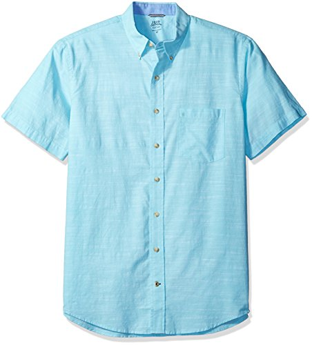izod-mens-big-and-saltwater-dockside-chambray-solid-short-sleeve-shirt-blue-radiance-3x-large-tall