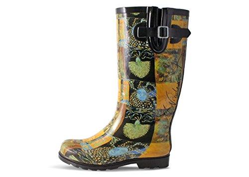 Artist Collection Moon Nomad Women's Rain Boot Sun Rubber III and Puddles fBaww5q