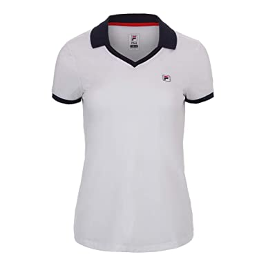 83b9b1eb Fila Women's Heritage Tennis Polo Shirt