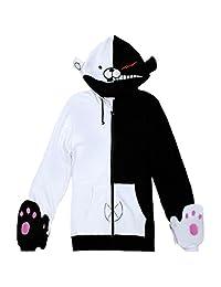 Lifeye Black White Sweatshirts Cosplay Jacket Hoodies - Long/Short Sleeves