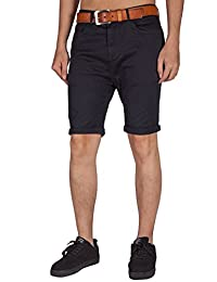 ITALY MORN Men's Shorts, Khaki Shorts, Classic Comfortable Stretch Shorts Twill
