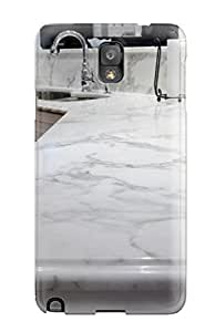 Awesome Design Calacatta Gold Marble Kitchen Countertops And Backsplash Hard Case Cover For Galaxy Note 3