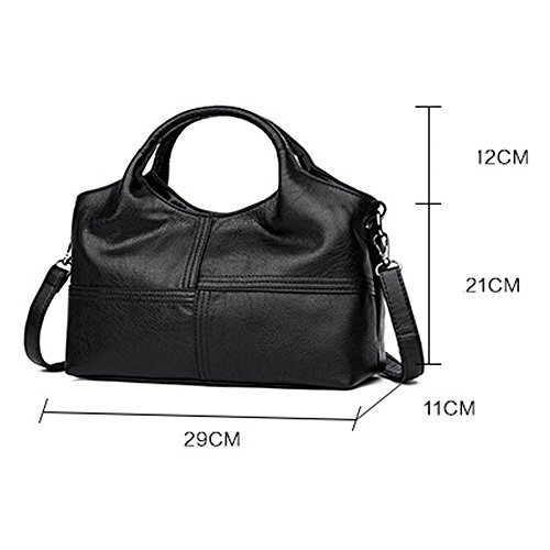 Femmes V Pour Sac Les Leather A Main Sacs Design Top Main Shoulder Shape à à Mode Look Handle élégant ZM qEUaw