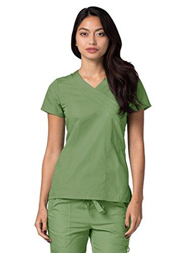 Lavoro Verde Mediche Adar asparagus Da Parte Camice Infermiera Donna Ospedale Uniformi Superiore xOBnvzwUx