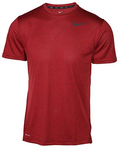 5d41a3d20bfe NIKE Men s Dri-Fit Short Sleeve Training Shirt-Team Red