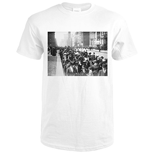 Easter Parade On Fifth Avenue Of New York Photograph (Premium White T-Shirt - 5th York Avenue On New Shops