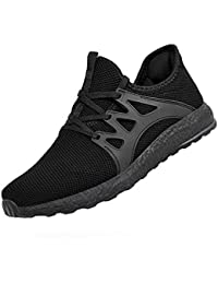 Men's Non Slip Work Shoes Ultra Lightweight Breathable Mesh Tennis Running Walking Athletic Sneakers