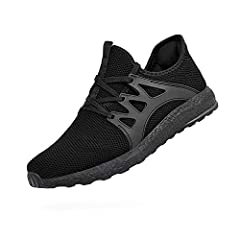 ZOCAVIA Men's Sneakers Ultra Lightweight Breathable Comfortable Workout Running shoes The cool outlooking not just brings you the fashion style,but also brings you the comfortable feeling when you wear them for their knit fabric is breathable...