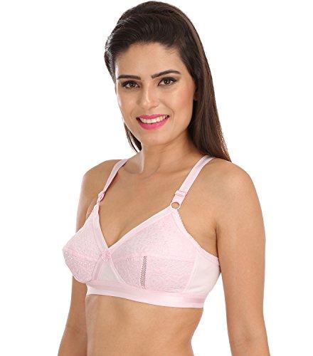 a7517c8e73 Sona Women s Delicate Super Everyday Full Coverage Plus Size Bra ...