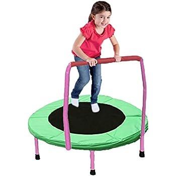 Amazon Com Dazzling Toys Mini Exercise Trampoline For