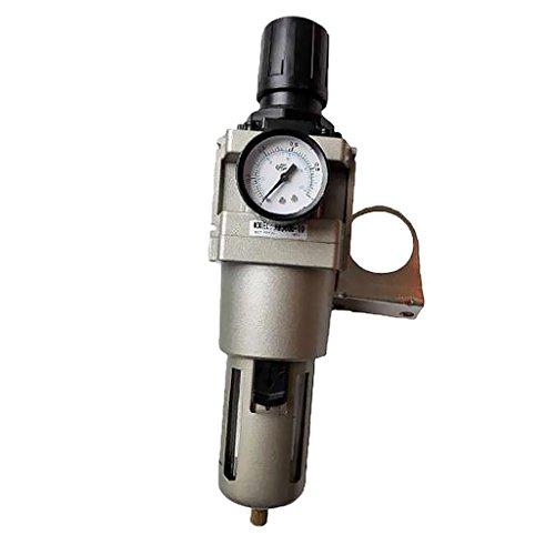 MonkeyJack AW5000-10 1/4'' Air Filter Regulator Moisture Trap Pressure Gauge Compressor by MonkeyJack