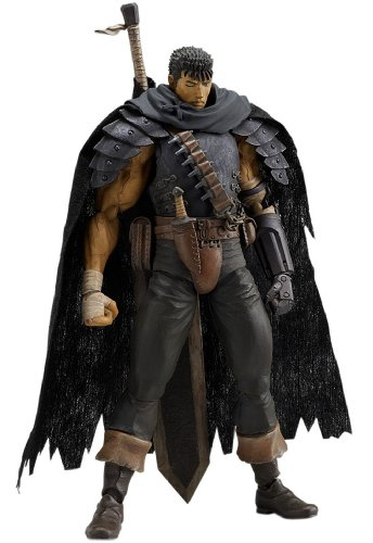 Berserk figma: Guts Black Swordsman Ver. Action Figure -