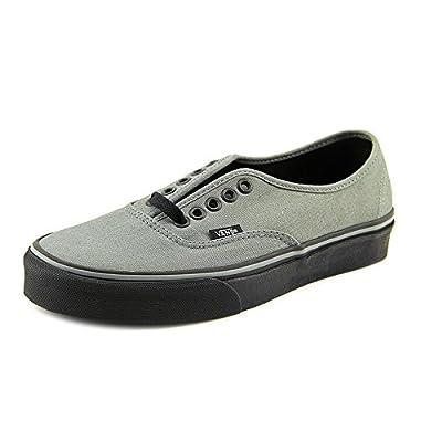 Vans Unisex Authentic (Black Sole) Sedona Sage Skate Shoe 9 Men US / 10.5 Women US