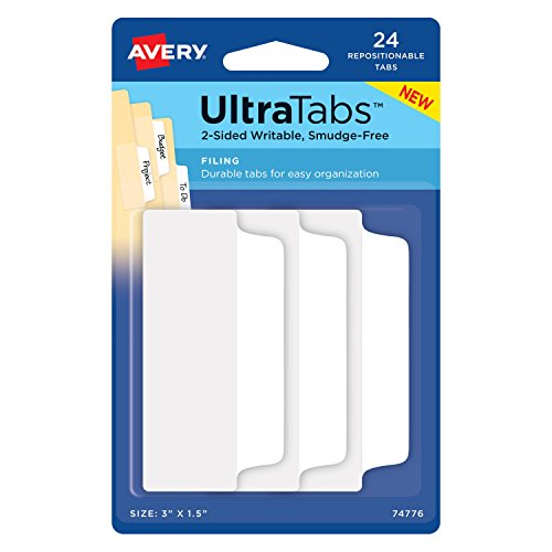 Avery Self Adhesive Index Tabs - Avery Ultra Tabs, 3