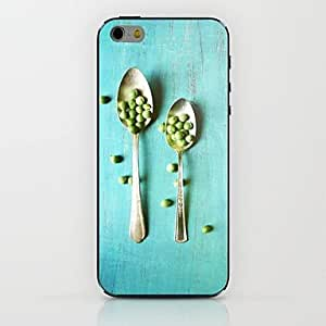LZX Two Spoons Pattern hard Case for iPhone 6