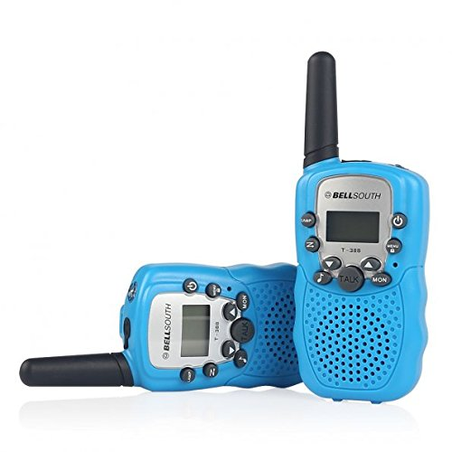 BELLSOUTH T388 2 Piece T-388 3-5KM 22 FRS and GMRS UHF Radio for Child Walkie-Talkie by BELLSOUTH