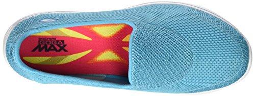 Skechers Go Walk 4-Propel, Zapatillas Para Mujer Azul (Turq)