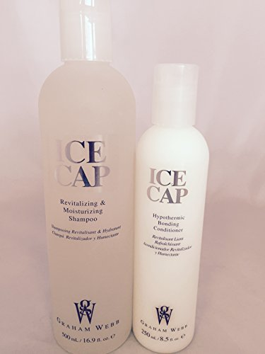 - Ice Cap Shampoo 16.9 oz and Conditioner 8.5 oz Set by Graham Webb