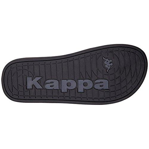 Kappa Men's Sea Flip Flops Black (1111 Black 1111 Black) 5cdQQ8T