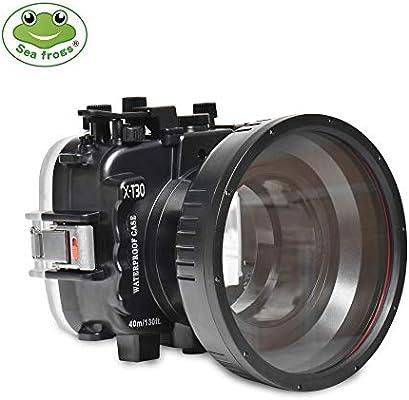 Sea Ranas para Fujifilm X-T30 18-55 mm 130ft/40m Carcasa para ...