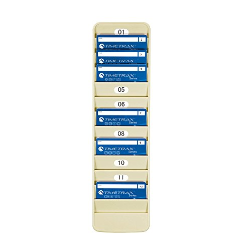 Pyramid 500-12 Badge Rack, 12 (Id Badge Rack)