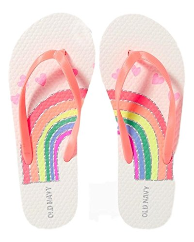 Flip Flops for Girl's Different Styles - Great Prices (1/2, Rainbow) (Old Navy Girls Flip Flop)