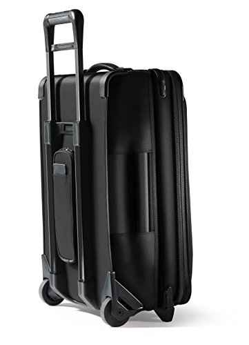 Briggs & Riley Baseline-Softside CX Expandable Carry-On Upright Luggage, Black, 22-Inch