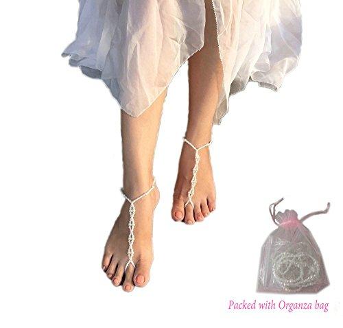 Vintage Bracelet Crochet Anklets Barefoot product image