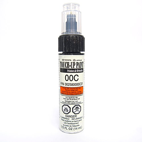 Clear Coat Car Paint - Genuine Toyota 00258-0000C-21 Clear Coat Touch-Up Paint Pen 1/2 FL OZ (14 ML)