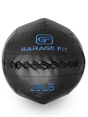 Garage Fit Wall Ball/WallBalls/Soft Medicine Balls/Wall Balls – 4, 6, 8, 10, 12, 14, 16, 18, 20, 25 and 30 Lbs – 1.8, 2…